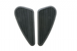Triumph Fuel Tank Knee Pad Grips: Side pads (tank pads) Black: 1 pair (Small)